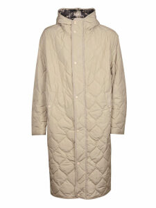 Dries Van Noten Hooded Quilted Coat