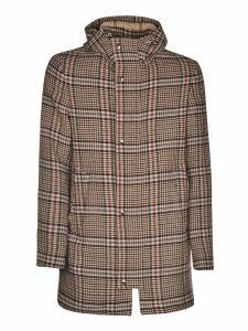 Herno Check Hooded Jacket