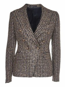 Tagliatore Multicoloralicya Double-breasted Jacket