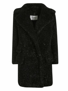 Max Mara Double Breasted Long Fur Coat