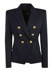 Balmain Golden Button Double Breasted Blazer