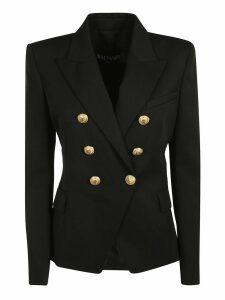 Balmain Golden Button Double Breasted Blazer