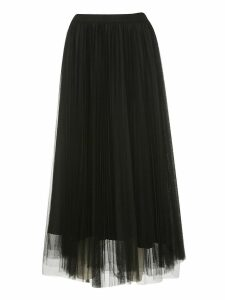 Fabiana Filippi Pleated Double Layered Skirt