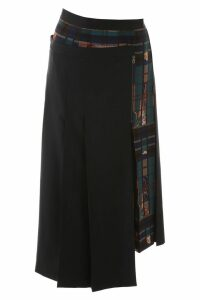 Salvatore Ferragamo Wrap Midi Skirt