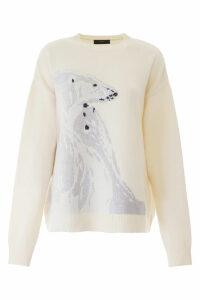 Alanui Polar Bear Pullover