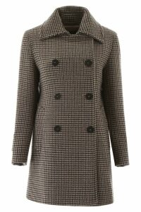 Weekend Max Mara Houndstooth Coat
