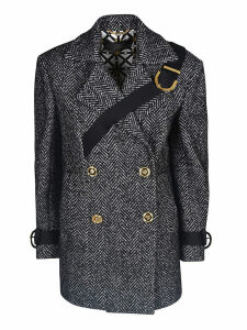 Versace Double-breasted Coat