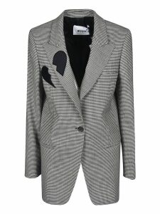 MSGM Checked Blazer