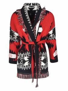 Alanui Icon Jacquard Cardi Coat
