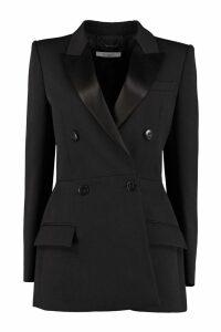 Givenchy Satin Details Wool Blazer
