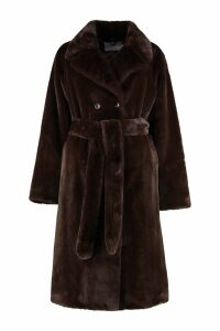 STAND STUDIO Faustine Faux Fur Coat