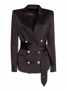 Balmain Tailored Belted Blazer