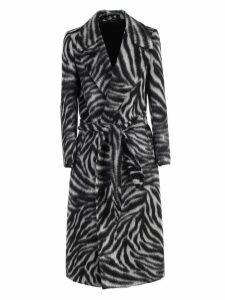 Tagliatore Coat Zebra Printing