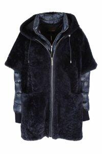MooRER reversible sheepskin coat