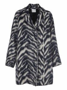 Forte Forte Zebra Print Coat