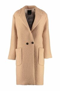 Pinko Girl Double-breasted Coat