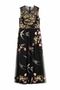 RED Valentino Embroidered Tulle Dress