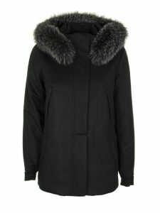 Loro Piana Icery Short Cashmere - Storm System® Fur Fox Jacket