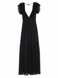TwinSet Dress W/s Long W/pleated Skirt