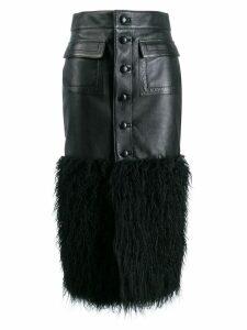 Saint Laurent Skirt W/fur