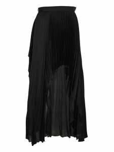 Stella Mccartney Asymmetric Pleated Skirt