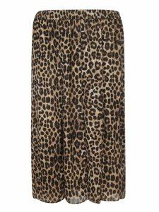 Michael Kors Animal Print Oversized Skirt