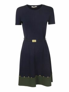 Tory Burch Belted Sweater Dress