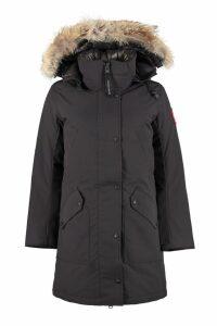 Canada Goose Ellesmere Parka With Fur Trimmed Hood