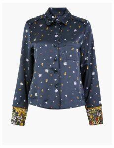 Per Una Floral Pyjama Style Blouse