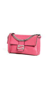 What Goes Around Comes Around Fendi Pink Nappa Micro Baguette Bag