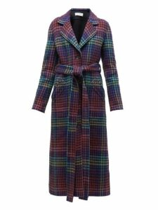 Gabriela Hearst - William Reversible Checked Cashmere Coat - Womens - Multi