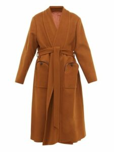 Blazé Milano - Chinook Whistler Wool Blend Coat - Womens - Brown