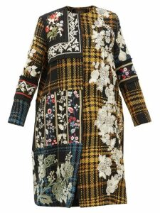 Biyan - Holia Floral Embroidered Cotton Coat - Womens - Multi