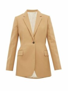 Joseph - John Single Breasted Slim Fit Blazer - Womens - Camel