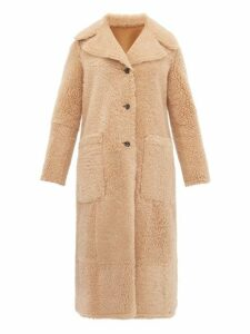 Joseph - Maybelle Reversible Shearling Coat - Womens - Camel