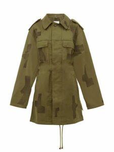 Myar - Repurposed Vintage Military Jacket - Womens - Green