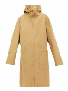 Jil Sander - Hooded Technical Shell Coat - Womens - Camel