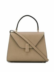 Valextra Iside small tote - Neutrals