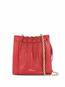 3.1 Phillip Lim Florence mini pleated tote - Red