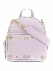 Versace Jeans Couture embellished backpack - Pink