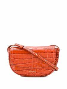Frenzlauer embossed satchel bag - Orange