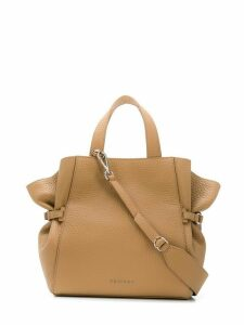 Orciani Fan tote - NEUTRALS