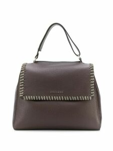 Orciani Sveva chain tote - Brown