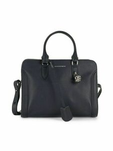 Small Padlock Leather Shoulder Bag