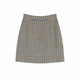 Jigsaw Heritage Check Mini Skirt