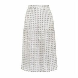 Lisou Liberty Comet Print Silk Skirt