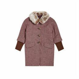 Jigsaw Tweed Cocoon Coat