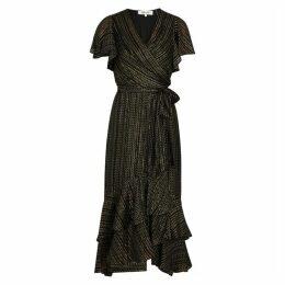 Diane Von Furstenberg Donnie Printed Silk-blend Midi Dress