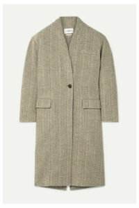 Isabel Marant Étoile - Henlo Herringbone Wool Coat - Taupe