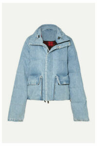 Unravel Project - Quilted Denim Coat - Blue